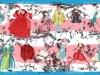 étole-20ans-rose-blanc-bordure bleue-laine et soie