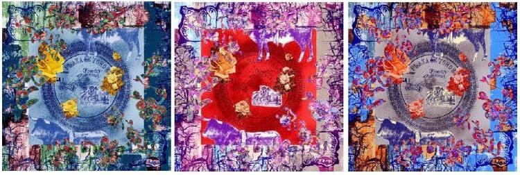carre-de-soie-christian-lacroix-90x90-plaza-de-toro-marine-rouge-bleu