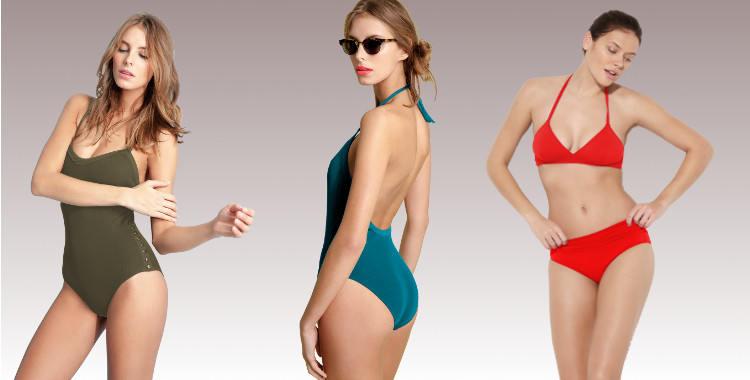 Dnud Collection 2014 , maillots de bain une pièces et deux pièces culotte haute