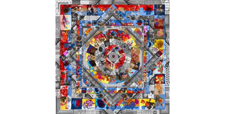 carre de soie christian lacroix 2014 labyrinthe