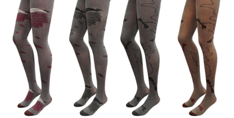 Collants Berthe aux grands pieds, collection 2014