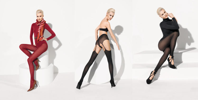 Collants fantaisie de la collection Wolford 2014