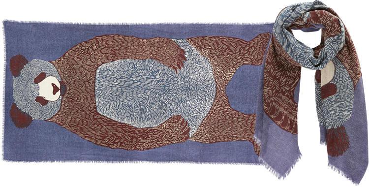 foulard-inouitoosh-ours-bleu