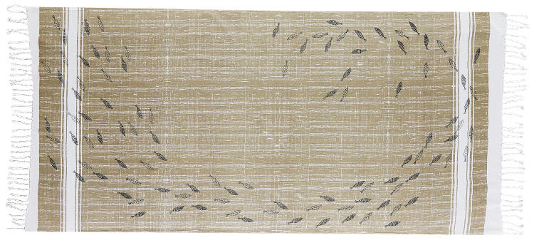 Foutas 100% coton Inouitoosh, collection 2016, imprimé représentant un banc de sardines.