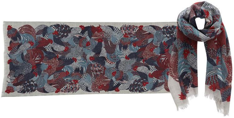 foulard-inouitoosh2016-coqs-bleu