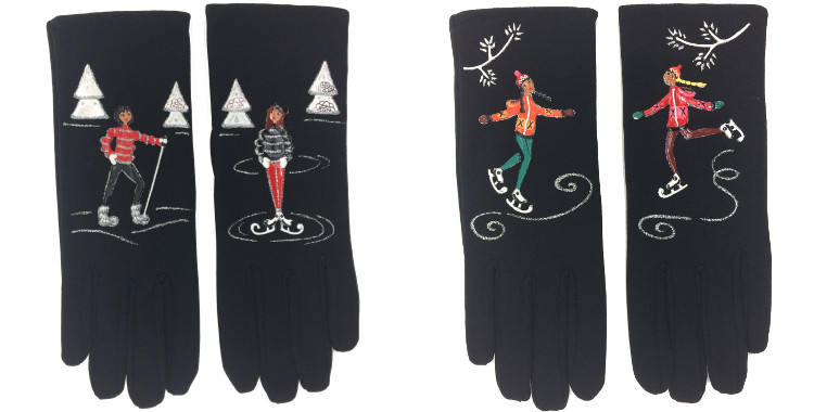 gants fantaisie quand les poules auront des gants 2017