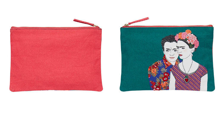 pochette coton inouitoosh 2018 Frida et Diego