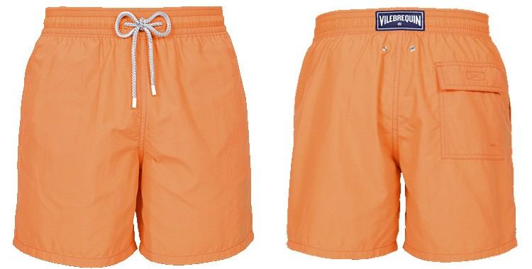 short homme moorea orange vilebrequin 2018