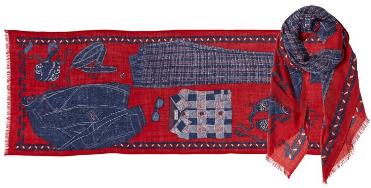 foulard, écharpe en laine, la mode, les vêtements et le perfecto