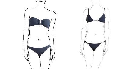 Maillots deux pièces Eres 2018 soutien gorge bandeau culotte classique bikini triangle coulissant slip fin ficelles