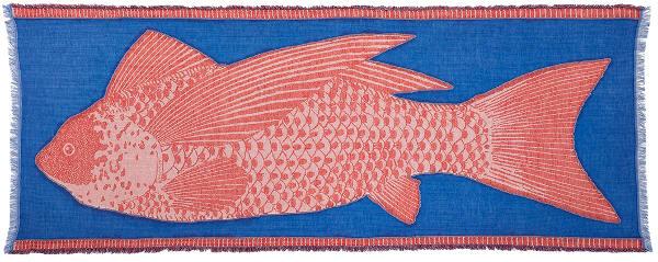 Foulard Inouitoosh été 2019 le poisson.