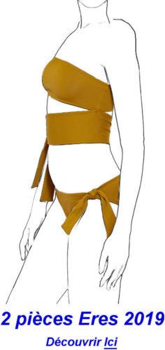 maillot de bain deux pièces bikinis Eres 2019