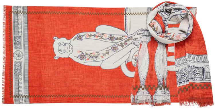 foulard laine inouitoosh hiver 2019 acanthes singe.