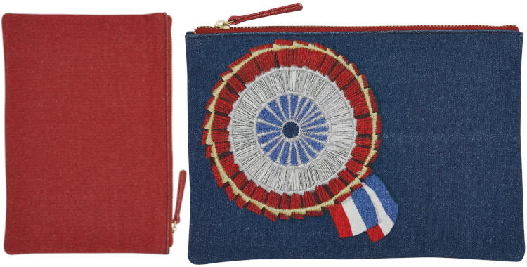 pochettes en coton, Inouitoosh hiver 2019, brodée, la cocarde.