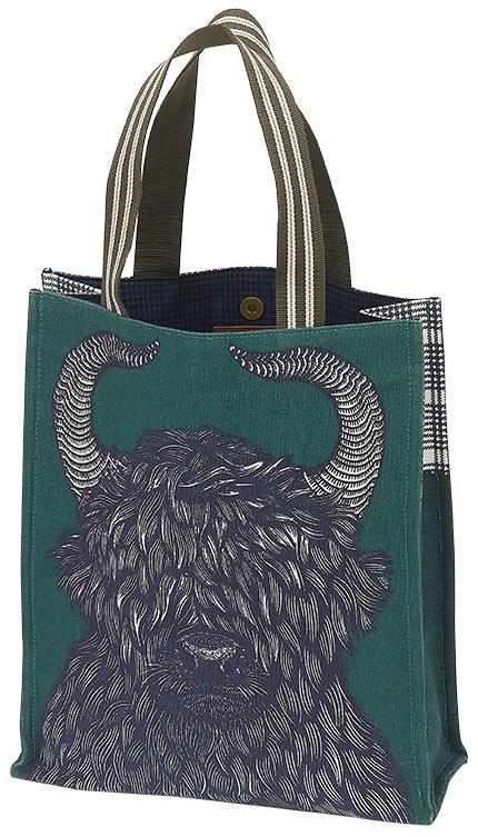 sac en coton imprimé Inouitoosh collection hiver 2020