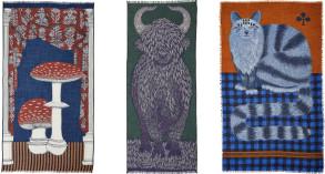 foulards, étoles, écharpes, Inouitoosh, hiver 2020.